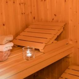 Séance de sauna à l'unité